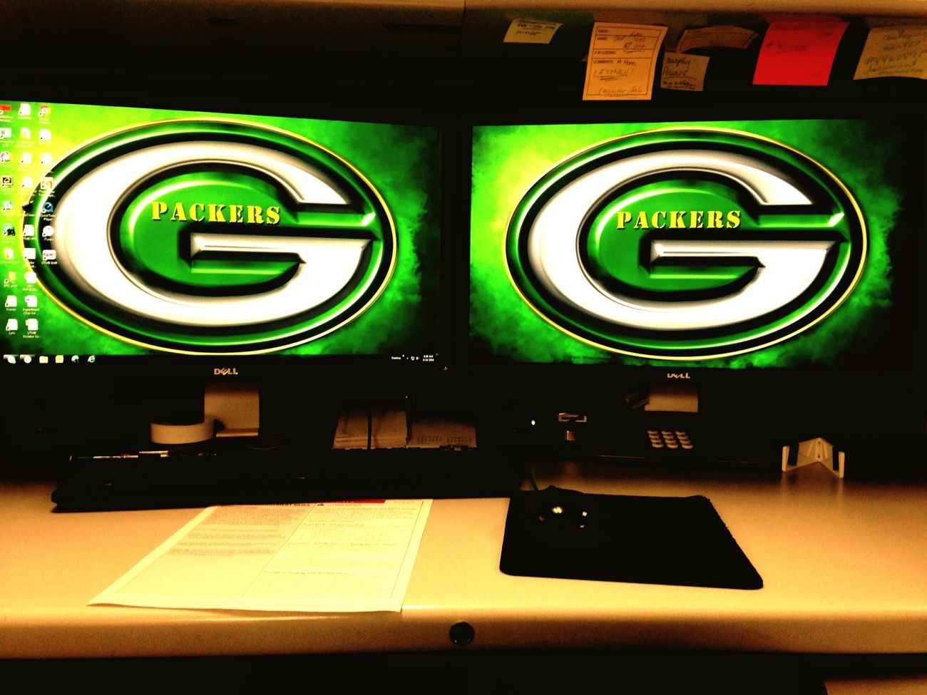 Workstation CheeseHeadNation Packersnation Double Trouble