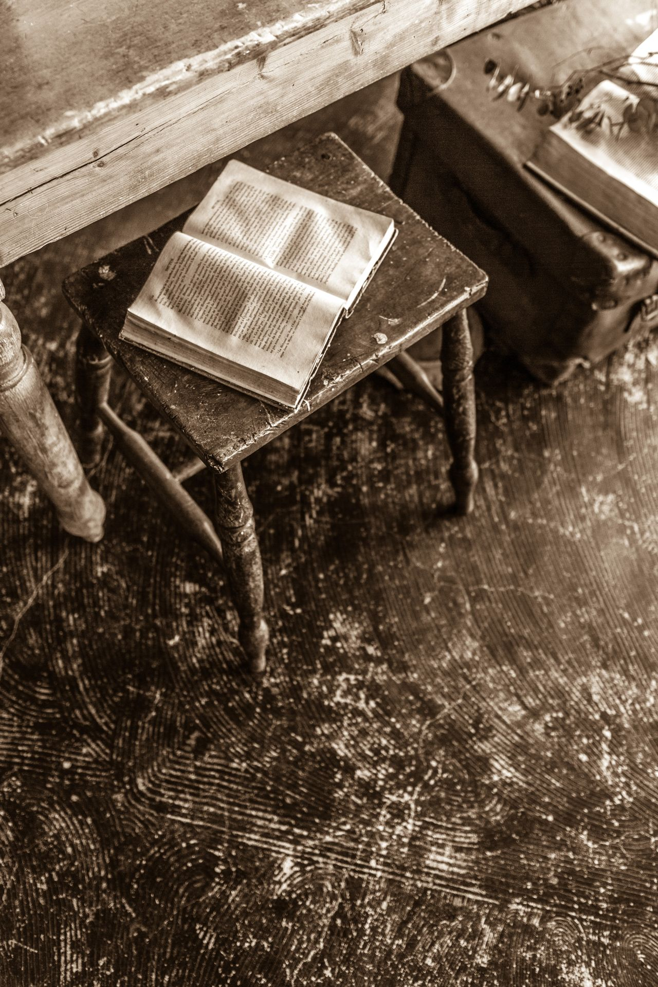 If you put your book on the stool I have nowhere to sit. No People Indoors  Technology Table Old-fashioned Day Close-up Book Monochrome Photography Interior Booklover Books ♥ Sepia Monochrome Cafe Bookworm Stool Stools