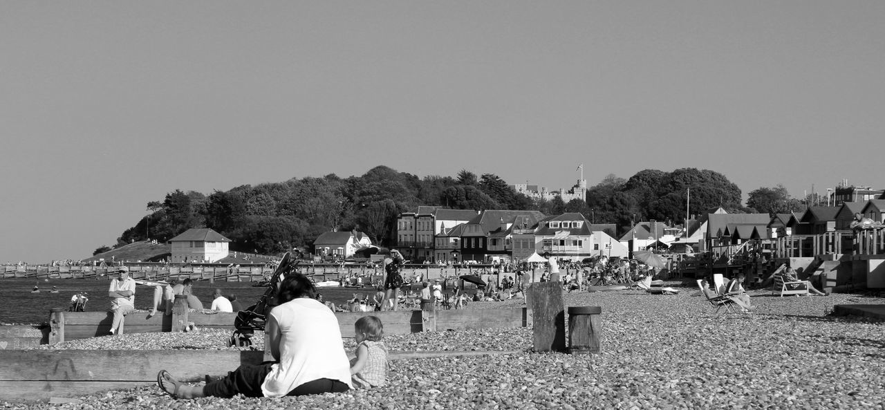 Adult Beach Black And White Black And White Collection  Black And White Photography Crowd Day Holiday Large Group Of People Lifestyles Outdoors Real People Rocky Beach Summer Summer Beach Summer Day Whitstable