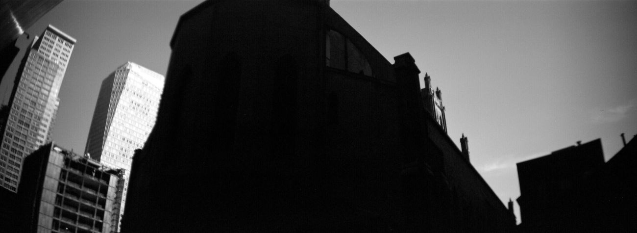Architecture Building Exterior Sprocket Rocket Panorama Adox Silvermax 100 Koduckgirl