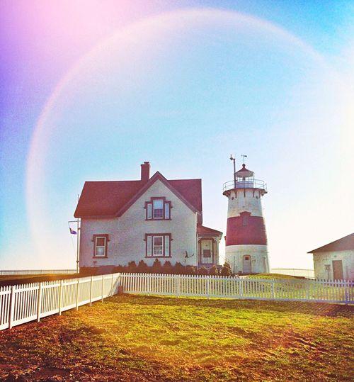 Stratford Point Lighthouse Stratford Connecticut New England  Lighthouse Stratford Point Lighthouse Beach Long Island Sound