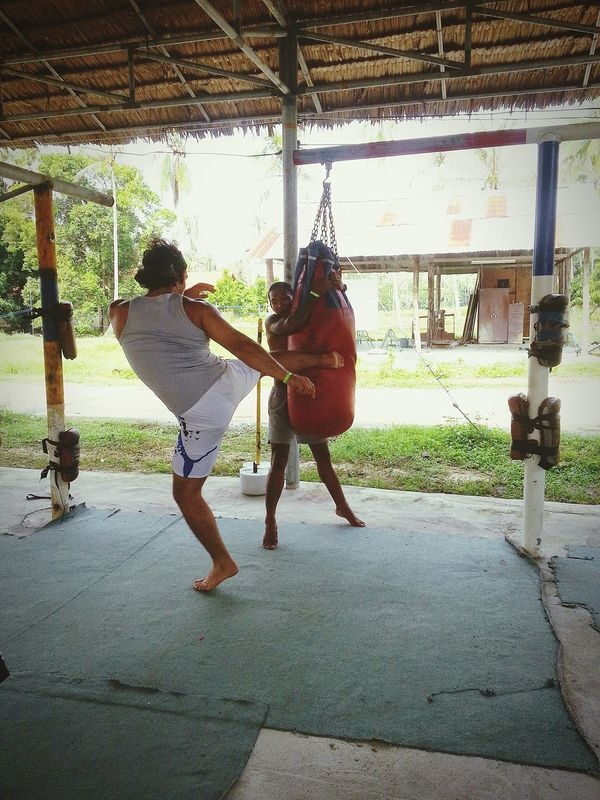 Thailand Thai Boxing  MMA Mixed Martial Arts Gym GymLife Exercise Workout Travel Outdoors Simple Life