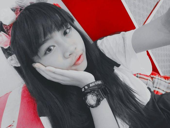ปากแดงง First Eyeem Photo