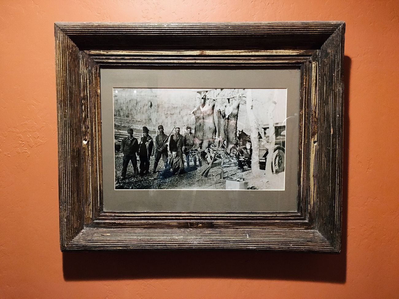 photo of an old game hunt photo. looks like early 1900s to me. amazing. Heber City