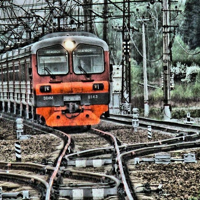 HDR Rzd Railway Russian Klimovsk
