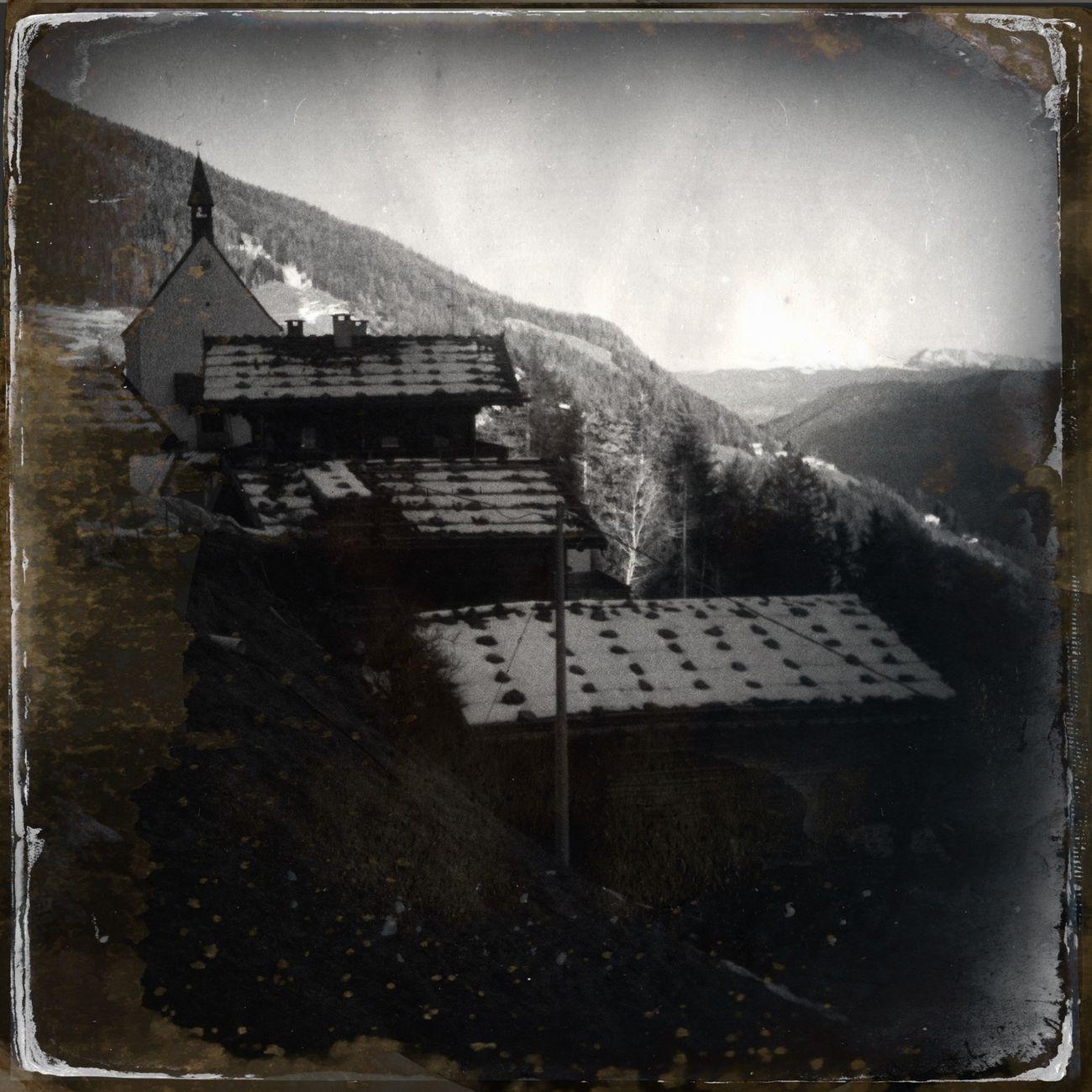 Small mountain village Blackandwhite The_guido Hipstamatic