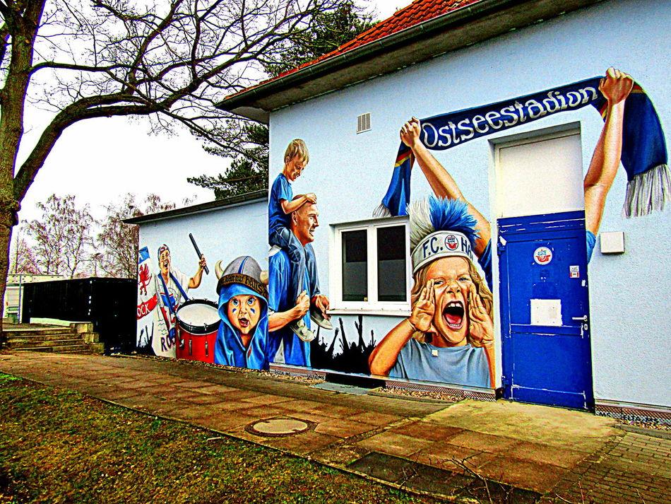 Bemalung Von Hauswänden Leben In Rostock--2017 Live In Rostock--2017 Paintings On The Walls