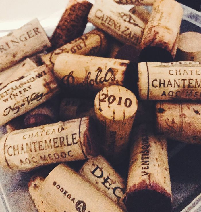 Love the wine ur with Corks Just Week End Nothing But Smiles!