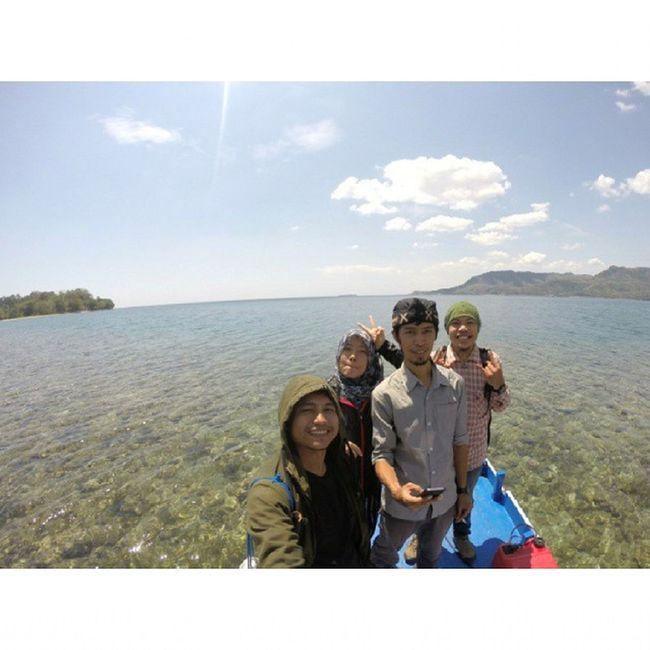 CelebesTrip on vacation at Dutungan Island INDONESIA