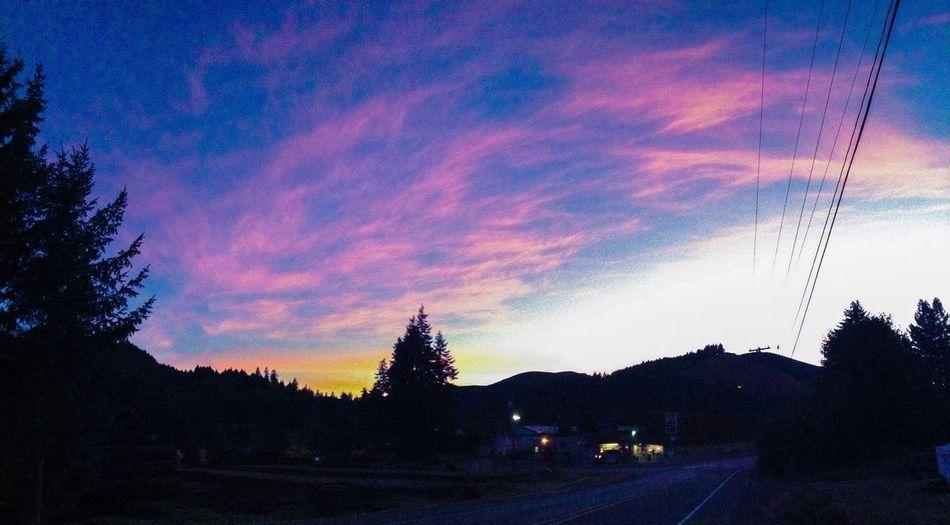 Sunset Oregon
