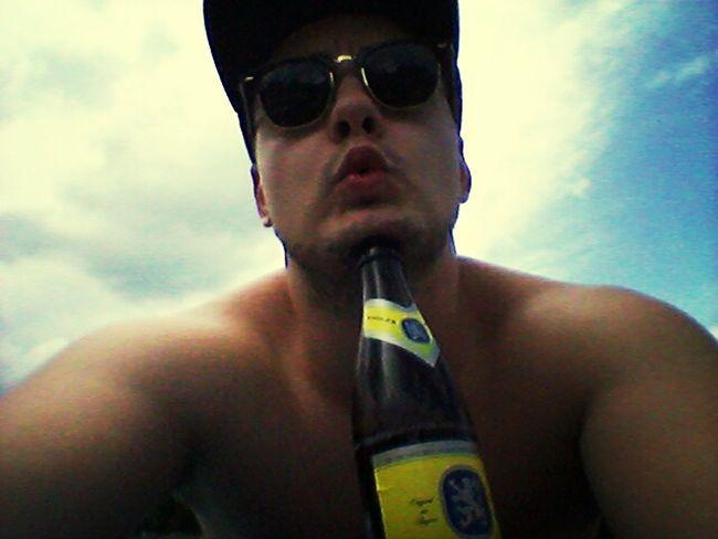Beer Selfie ✌ Self Potrait Munich #vbeste