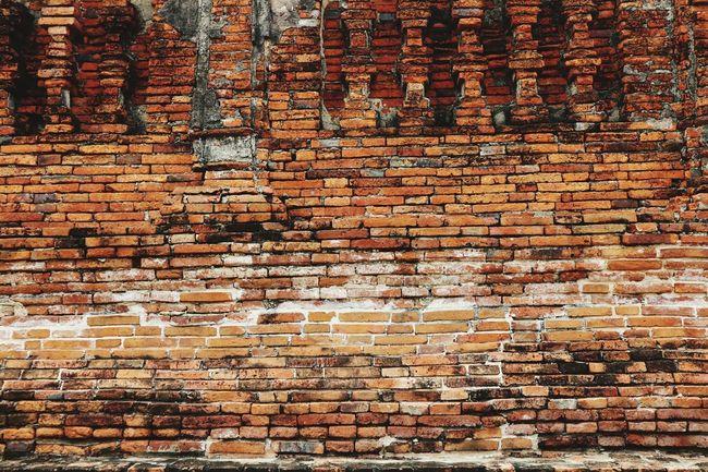 Ancient Brick wall in ruin temple, Ayuddhaya-Thailand Ancient Brick Wall Brick Wall Canon Eos M10 Thailand_allshots Thailand Photos Temple Ruin Temple Ayuddhaya Ayutthaya | Thailand Ayutthaya Thailand Wat Chaiwatthanaram Ayutthaya Historic Park Showcase July