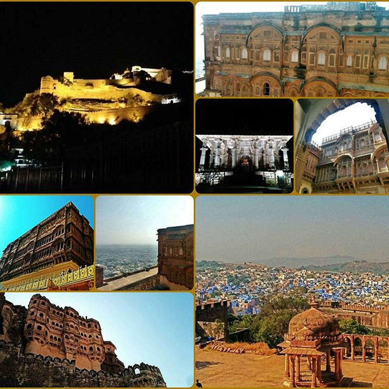Forts, palaces and the light and sound show! Mehrangarh Kumbhalgarh Jodhpur Aravallis Rajasthan Theincrediblestateofindia