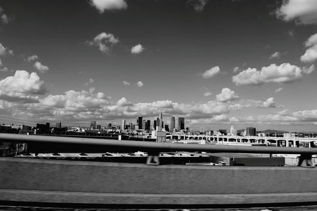 43 Golden Moments Blackandwhite Black And White Photography DTLA Skyline Dtla Art District Los Angeles, California co City Life Hello World Check This Out Relaxing