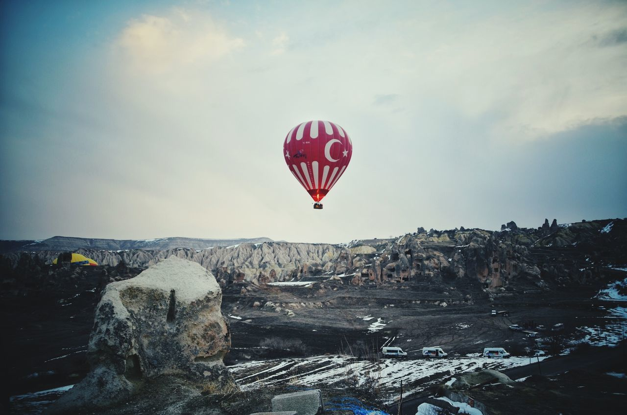 Cappadocia Hot Air Ballons Turkish Pride Turkeyadventure Myeyes