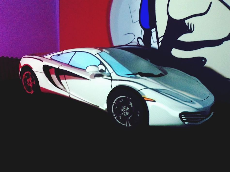 McLaren Mclaren 650S Cartoon Style Tag Heuer GenevaInternationalMotorShow2015 GIMS2015 Swiss