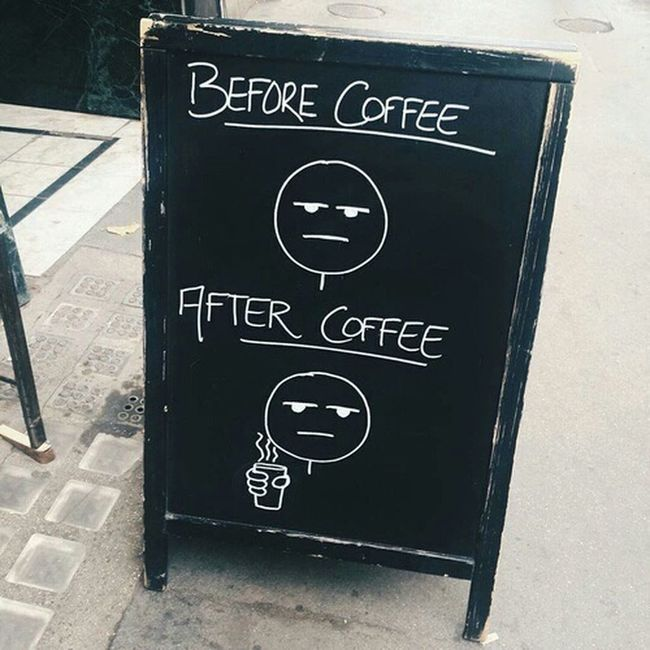 Coffee is always the answer