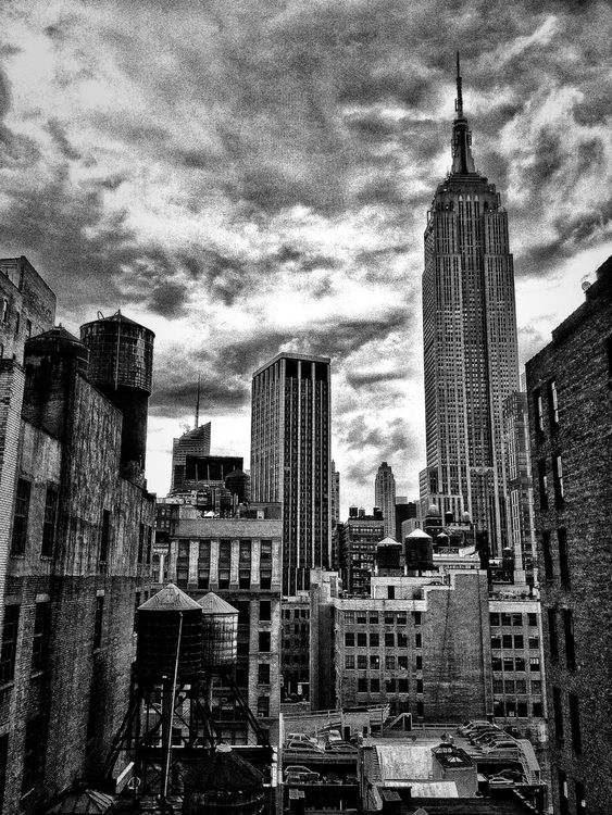 blackandwhite in New York by Dutch Doscher
