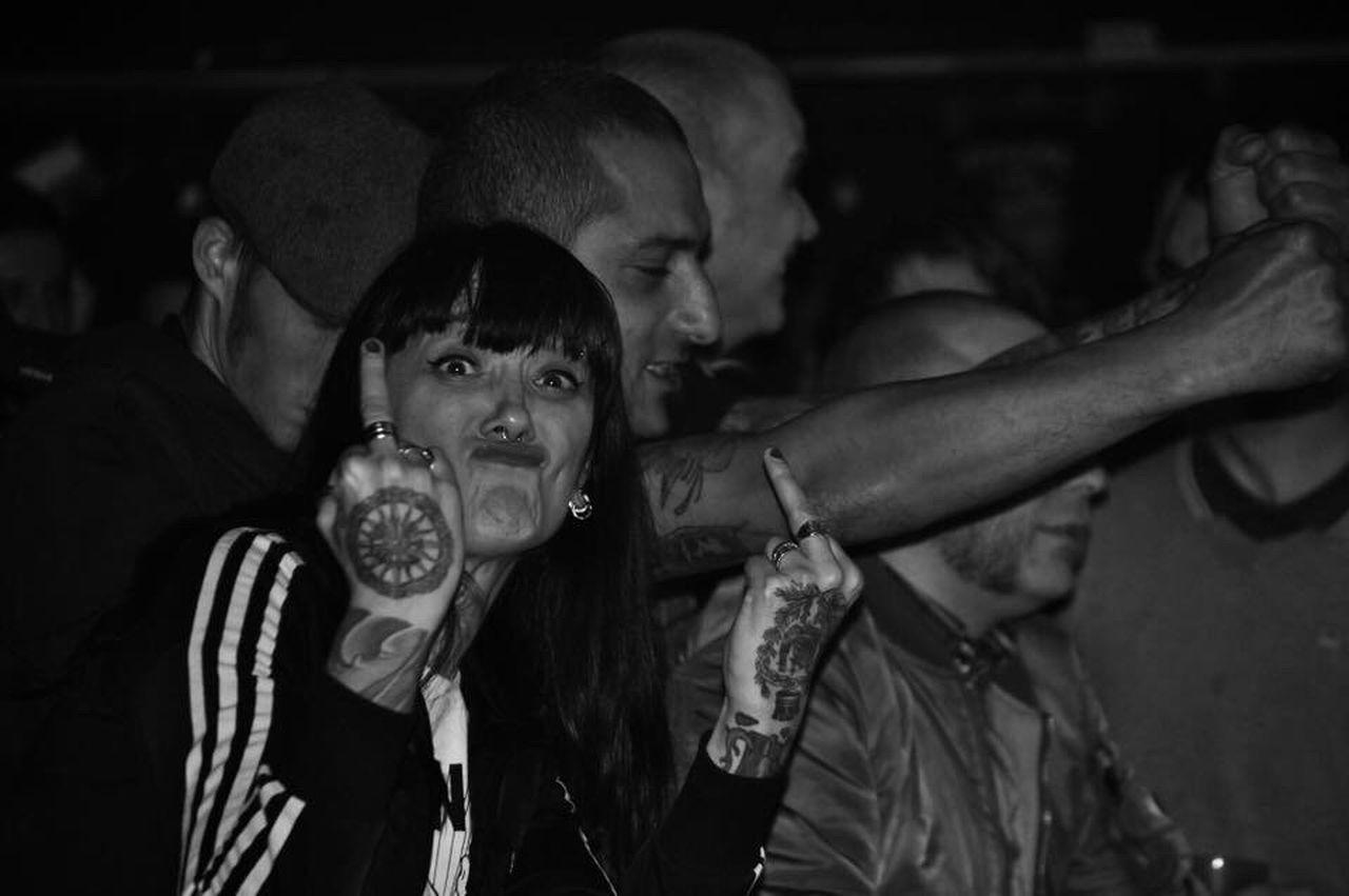 Tattoo Life Monochrome Photography Punk Punkrock Punk Style Punksnotdead Punk Rock Oi Concert Concert Photography