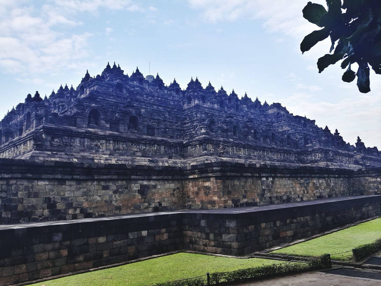 BOROBUDUR TEMPLE Travel Destinations Landscape Scenics History Architecture Historical