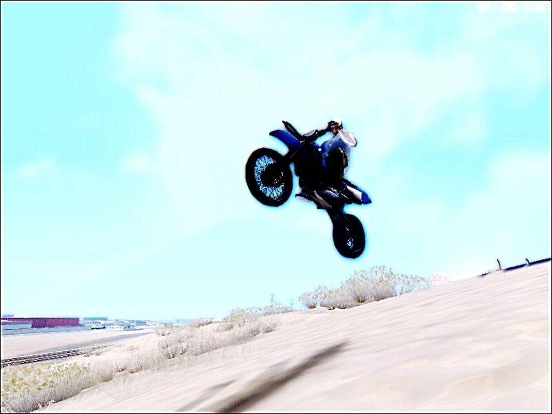 my Gtasa Motocross :v Desert