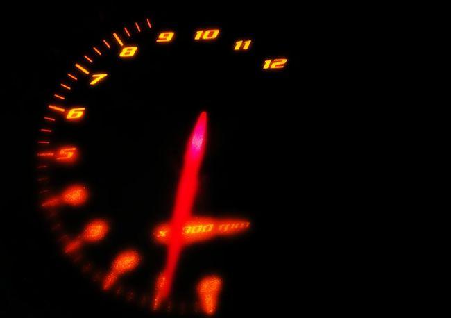 Speedometer Bike Ride Idling