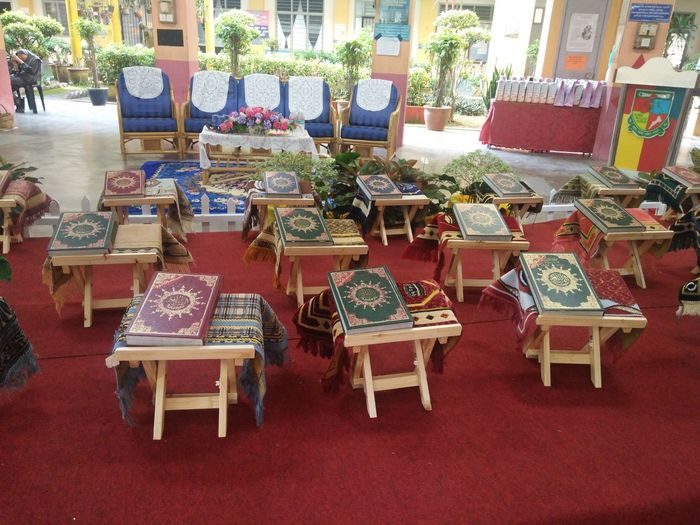 Khatam Al Quran Chair Large Group Of Objects Retail  Day No People Indoors