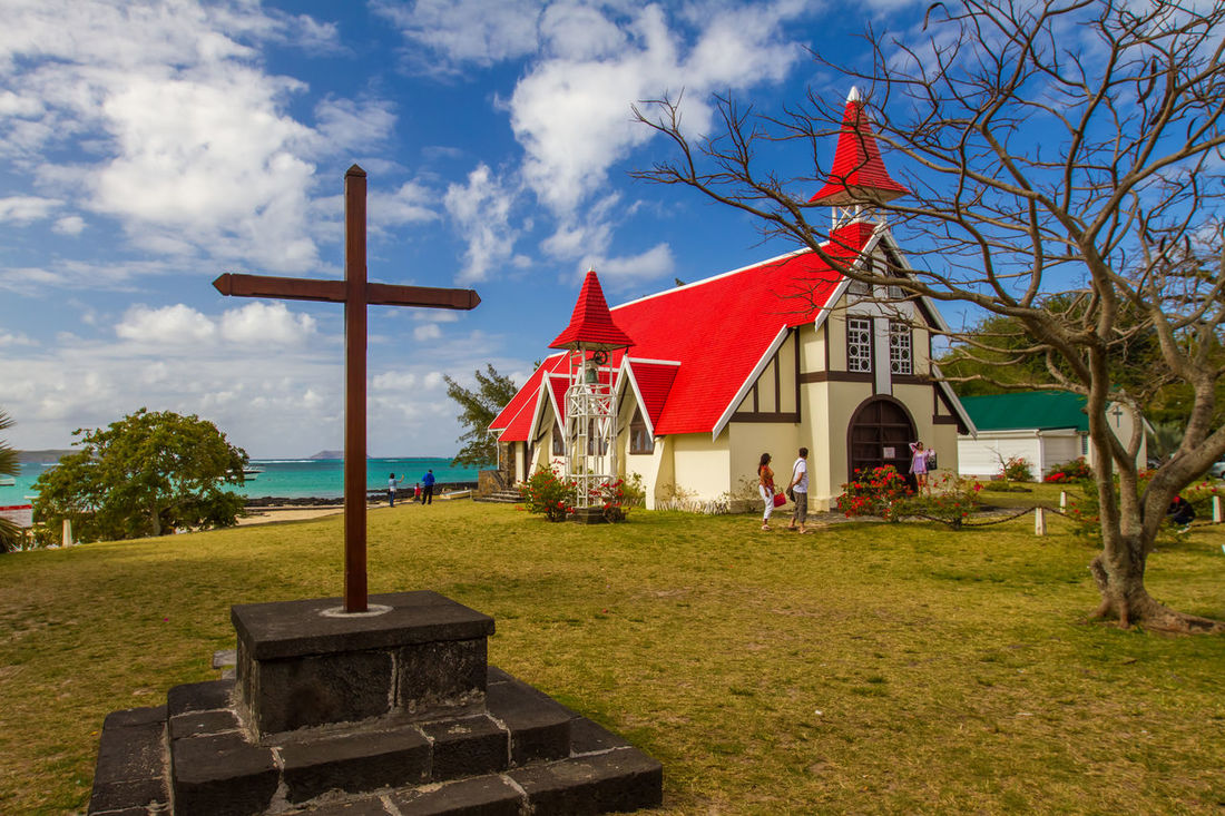 the north cape of Mauritius Architecture Building Exterior Built Structure Cap Malheureux Church Churches Clouds And Sky Eye4photography  EyeEm Best Edits EyeEm Best Shots EyeEm Gallery EyeEmBestPics Façade House Maurice Mauritius Mauritius Island  Ocean Ocean View Outdoor Outdoor Photography Outdoors Religion Roof Tree