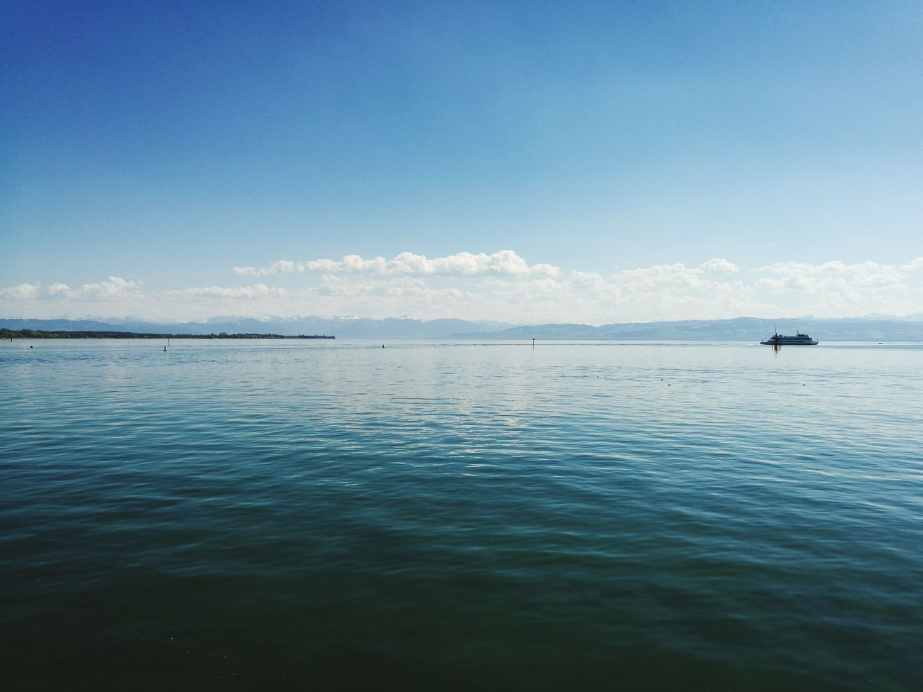 Bodensee Sea Nature Outdoors Sky Horizon Over Water Lovelysister Allaroundtheworld