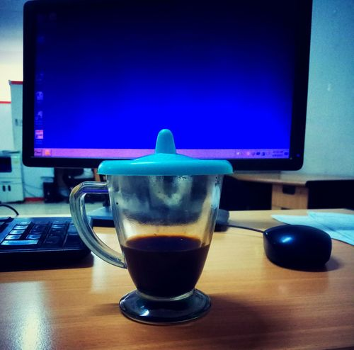 Coffe Break. Table Day Freshness