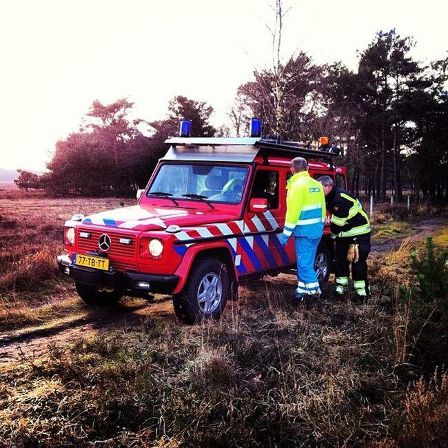 Vandaag met de Ambulance prima samengewerkt met de Brandweer ! Emt EMS mercedes bussum