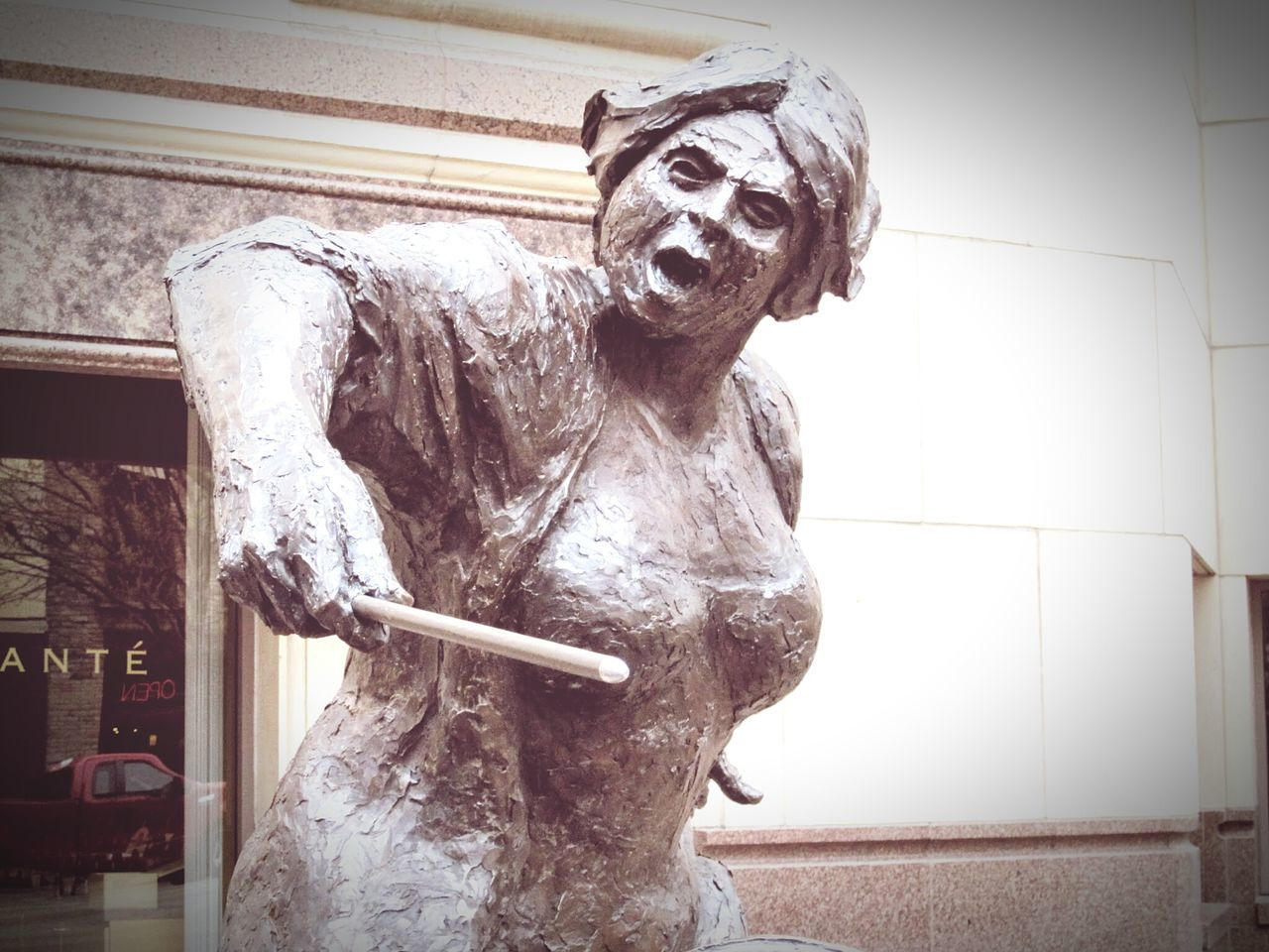 Statue Sculpture Art And Craft Human Representation Art Creativity City Outdoors Stone Material Monument Mythology History Weathered Austin Texas Capital Cities  Capitol Feminism Fierce HERO Heroine Arts Culture And Entertainment Architecture Exploring Adventure