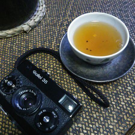 Rollei 35与乌龙茶 Still Ilfe Oolong Tea The Camera