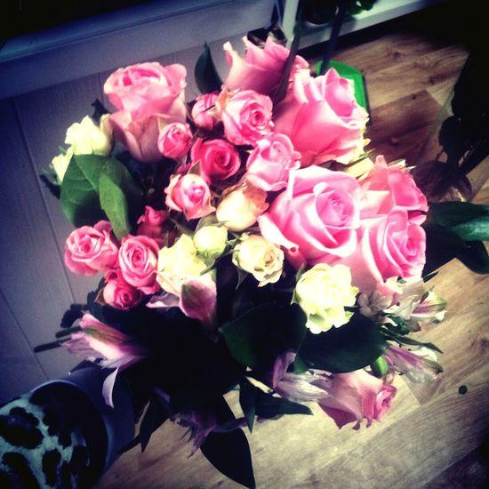 My Work букет цветы 8марта