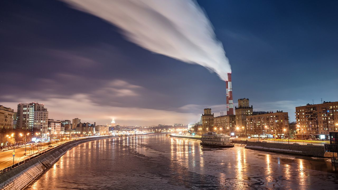 Beautiful stock photos of moscow, Architecture, Built Structure, Chimney, Cityscape