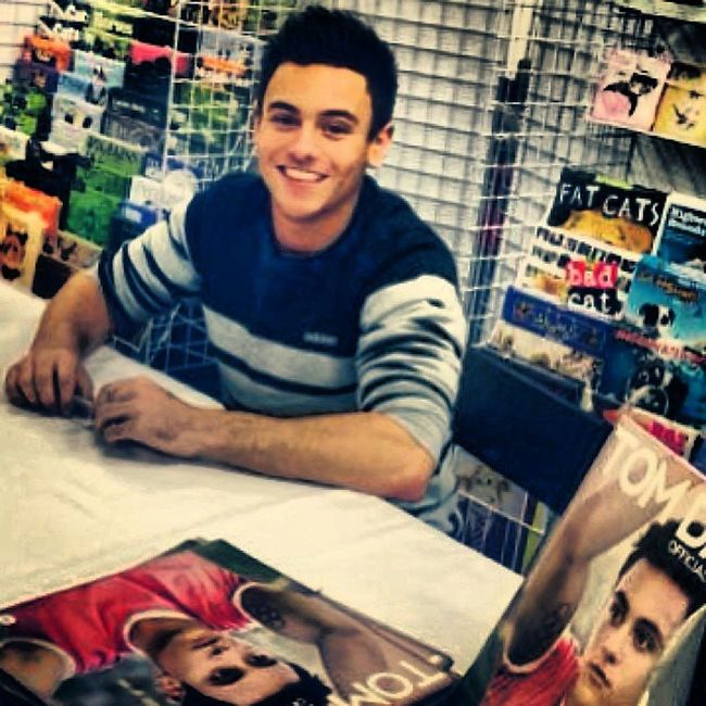 Tomdaley Swimming Player Cool