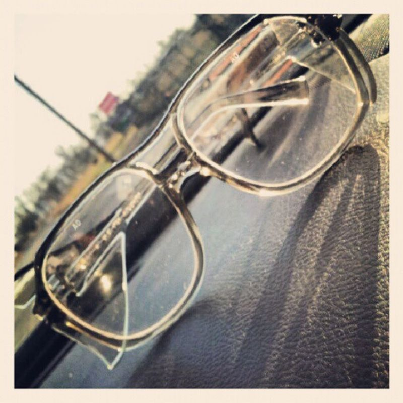 My new glasses Hipster Smalllencetomainstream Standout Bigglasses original