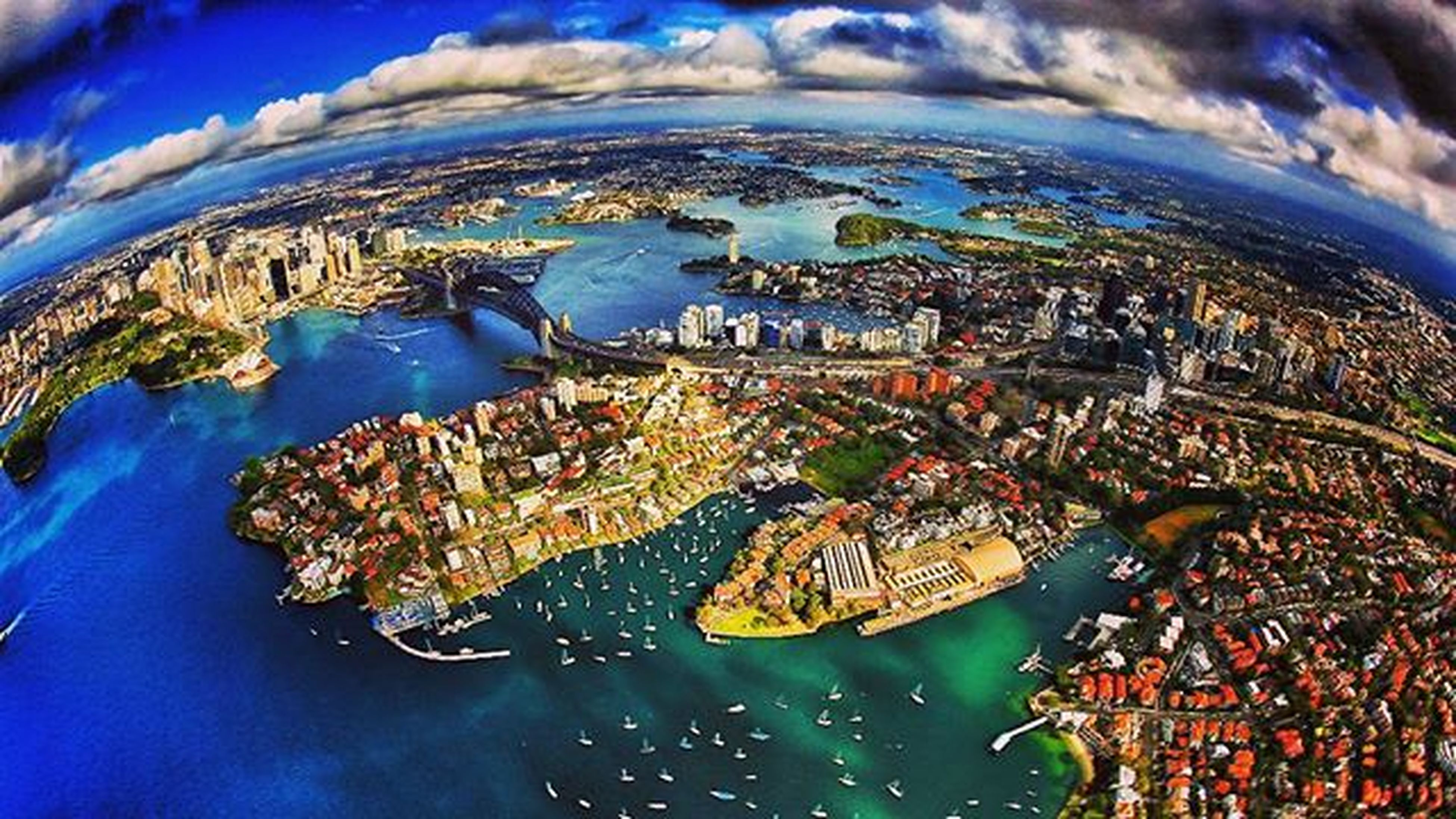 Dont stop Sydney to impress. Half of world might be here, literally and metafor... Blue, green, water or land, yet thousands of people from arround the globe gathered here, and coloured Sydney. Colors Clouds Skyporn Aerial Aerialphoto Sydney City Australia Newsouthwales Visitnsw Visit_nsw Tourism Travel Cityadventure Myfeatureshoot Globe Wanderlust Beautifuldestinations Alldayexploring Aerialphotography @bimaprasena