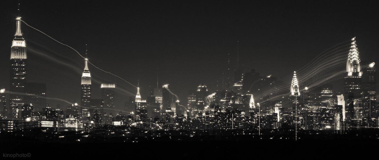 Manhattan skyline & 3 ghosts. Urban Landscape Blackandwhite The EyeEm Facebook Cover Challenge NYC