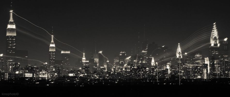 Manhattan skyline & 3 ghosts. Urban Landscape Blackandwhite The EyeEm Facebook Cover Challenge NYC
