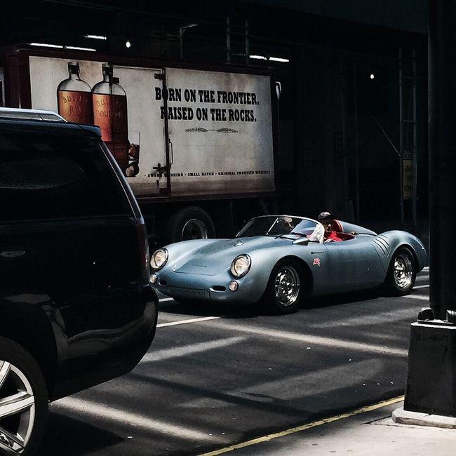 I spy'd-her | #Porsche718 | #dream #chelsea #NYC Spring 2016