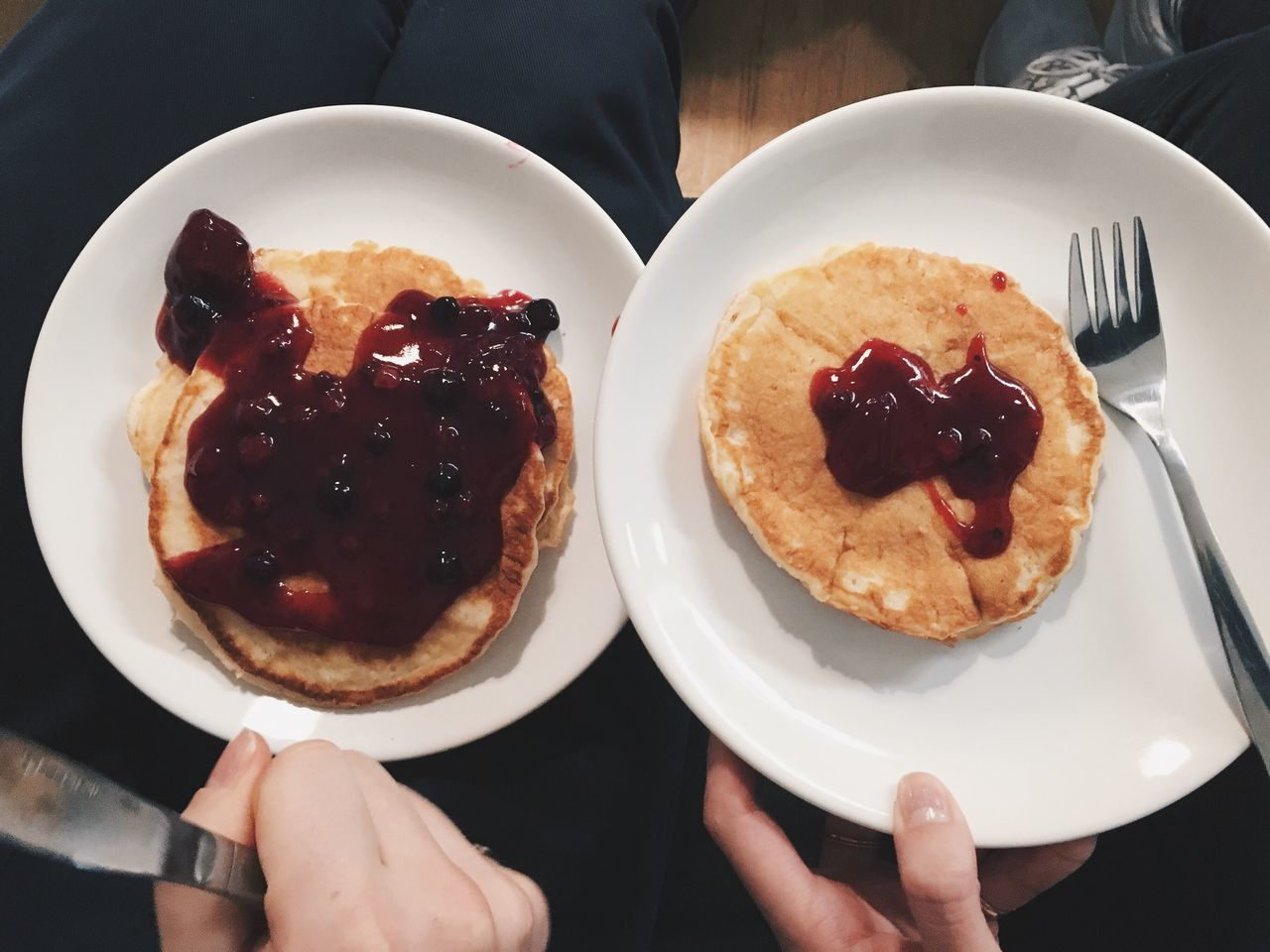 His And Hers Fat And Proud The Gym Is Screaming My Name Yo! Pancakes
