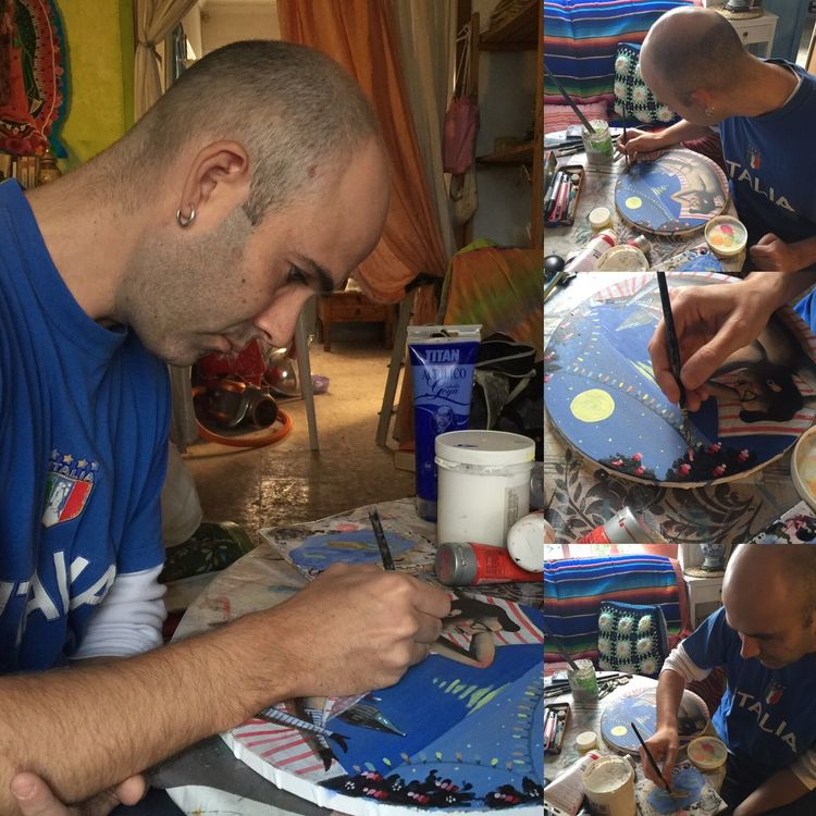 Up Close Street Photography Israel Nicolás 🎨 Atelier De Pintura 🎨 Bellas Artes 🎨 Fine Arts 🎨 Art Atelier Making Of ❤️4️⃣🎨