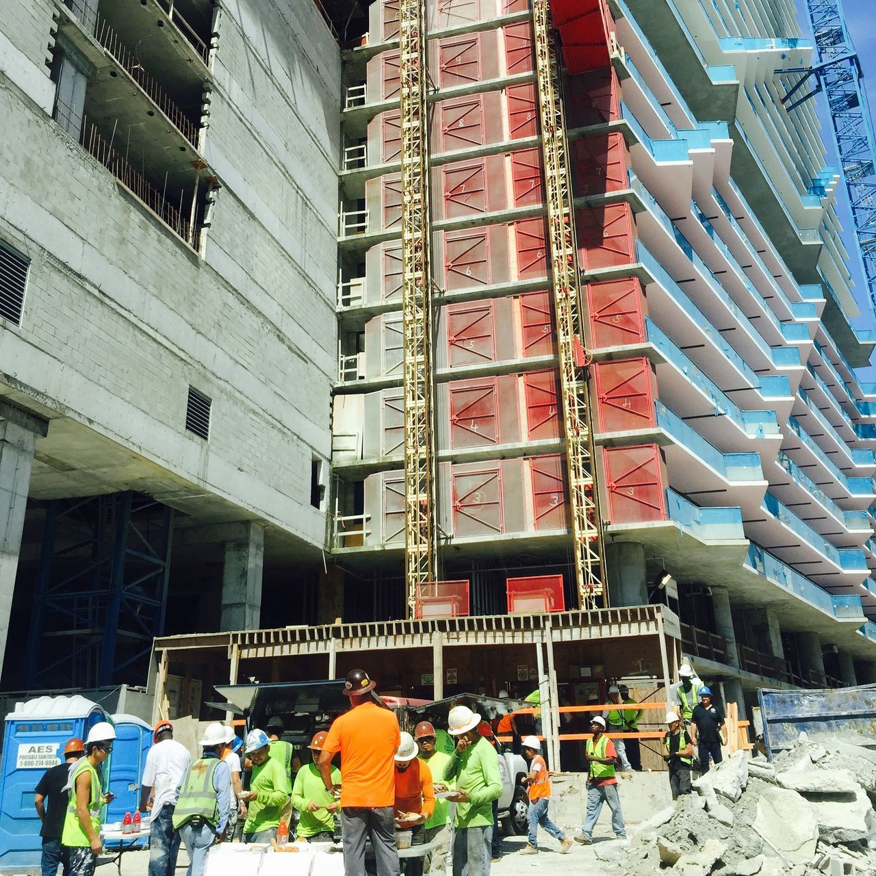 Beautiful stock photos of miami, Building, Building Contractor, Construction Industry, Construction Site