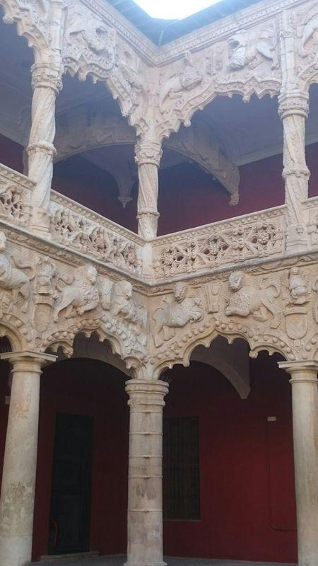 Gothic Patio Interior Spanish Arquitecture The Traveler - 2015 EyeEm Awards Palais Palacio Del Infantado Palace Palazzo Palacio
