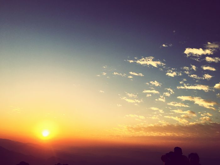 Adapted To The City Sunrise And Clouds Colours Of Nature Sunrise View From Sarangkot Pokhara Landscape Sky Cloudscape Heaven Is Meath Nepal Is Real Visit NEPAL 2017 Travel Destination
