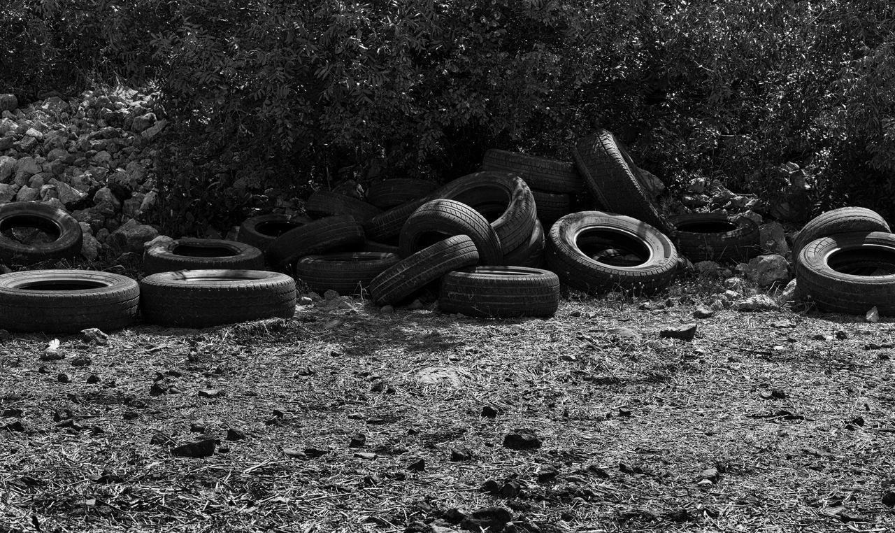 Environment Disaster Circle Circles In Circles Dump Enviornmental Awareness Environmental Issues Garbage Landscape Nature Recycling Rubber Tires Turkey Uzuncaburç