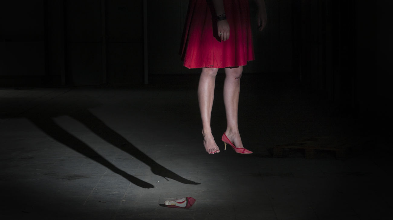What's her story... A horrific story told in 11 photo's. (Not real) 6/11 Abandoned Adult Arts Culture And Entertainment Dark Dark Darkness Death Factory Hanging High Heels Horror Horror Photography Human Body Part Murder Night Portrait Portrait Of A Woman Portraits Red Red Dress Shadows Shoes Story Storytelling Suicide