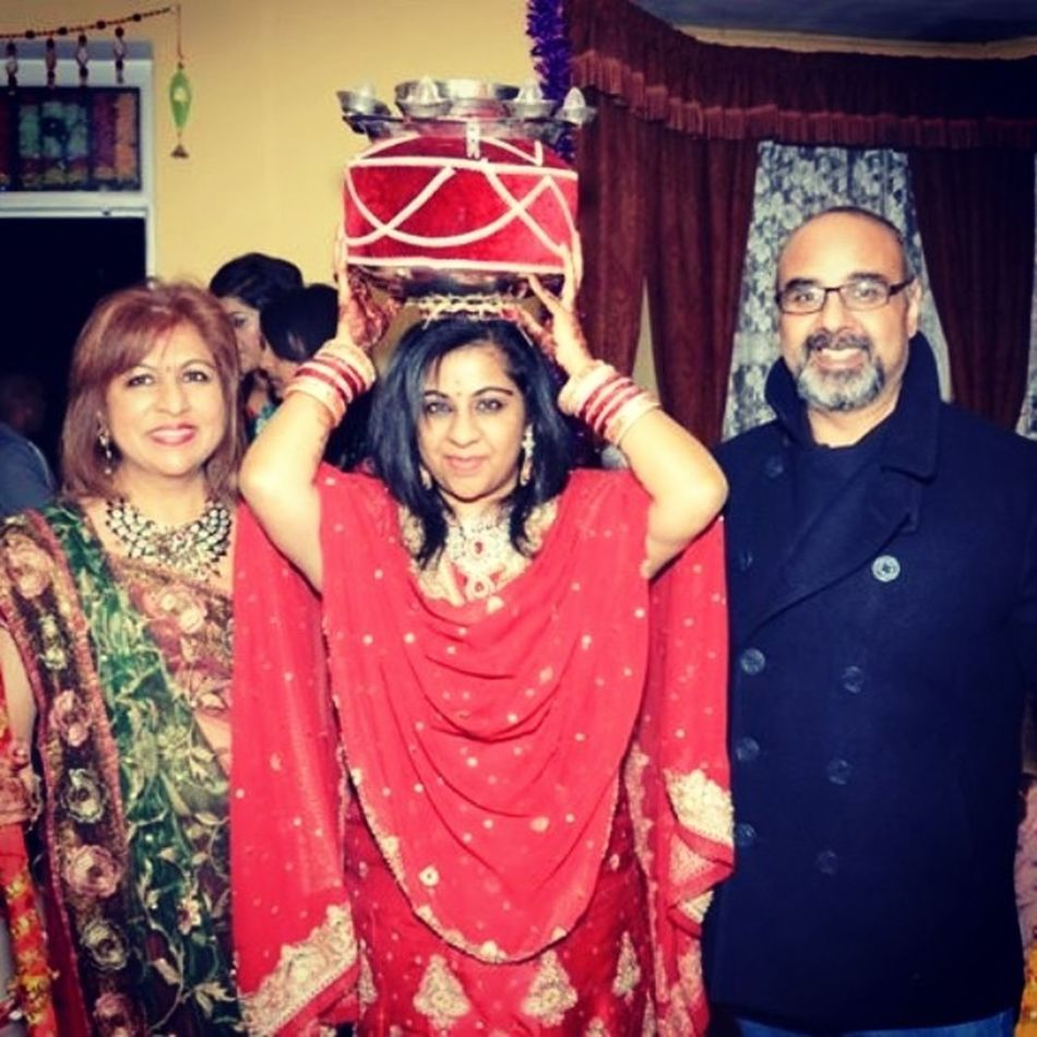 Indian Wedding Punjabi Red Jaago