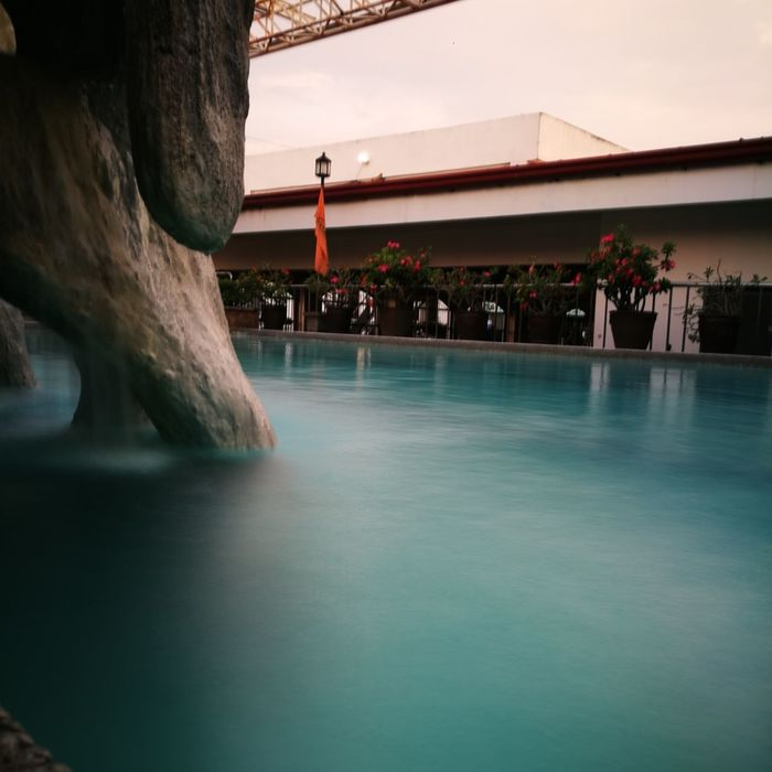 EyeEm Selects Water Swimming Pool Outdoors Architecture Luxury Day No People Sky Silky Water HuaweiP9 HuaweiP9Photography AStepAhead YearOfDualCam Been There.